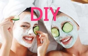 DIY Facial Masks, girls with facial masks
