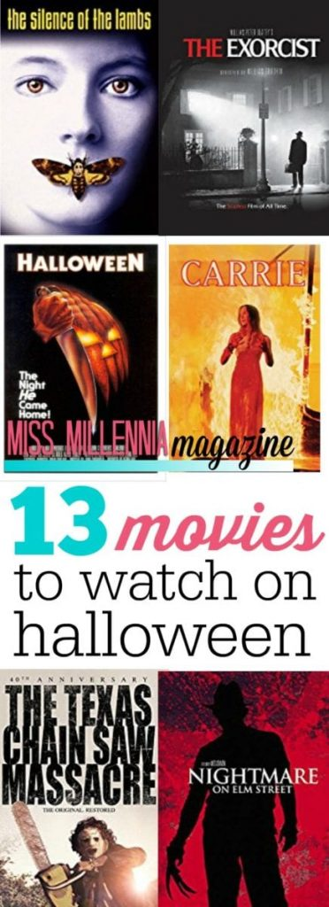 What are the best films to watch during Halloween season? We tell you the 13 films you should always watch.