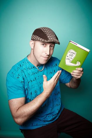 """Davy Rothbart and his book """"My Heart Is An Idiot"""". Photo courtesy of sfgate.com."""