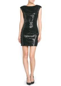 Leopard Sequin Dress