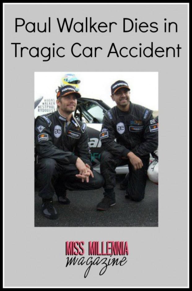 Paul Walker Dies in Tragic Car Accident