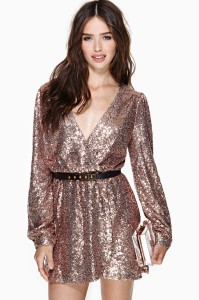 In A Flash Sequin Dress