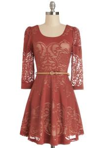 Twist is It Dress