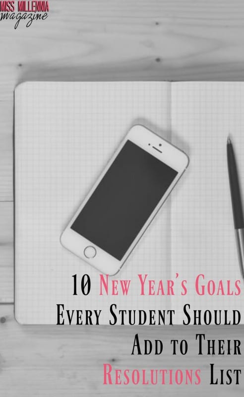 10 New Year's Goals Every Student Should Add to Their Resolutions List