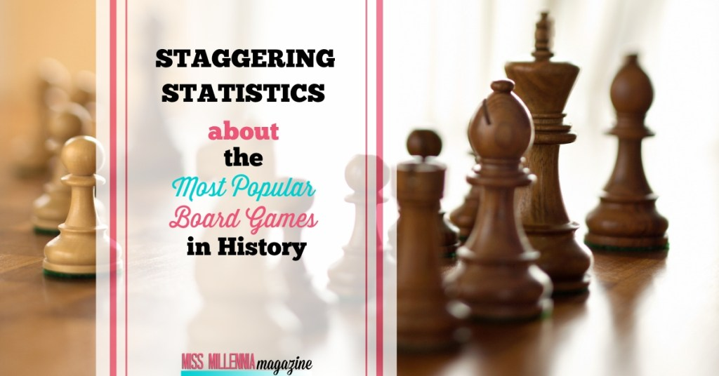 Staggering Statistics about the Most Popular Board Games in History pin