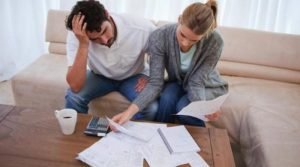 Couple Managing Finances