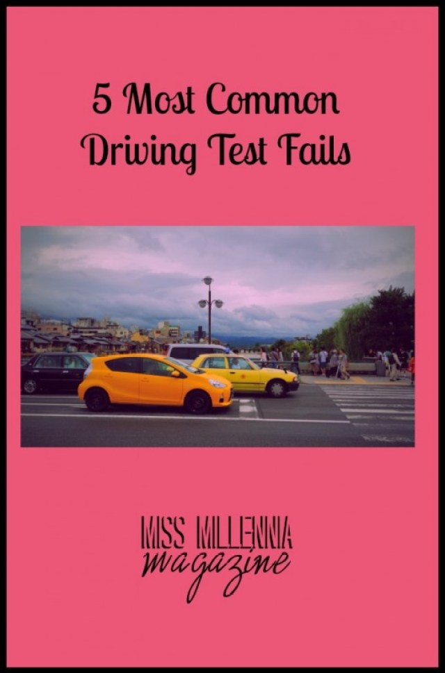 5 Most Common Driving Test Fails