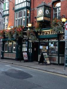 A pub in Dublin