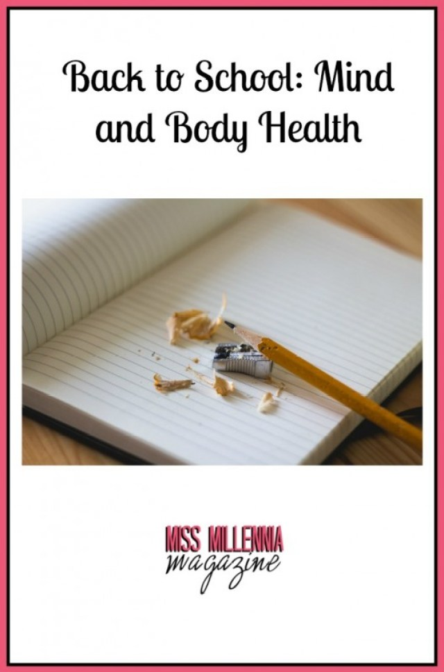 Back to School Mind and Body Health
