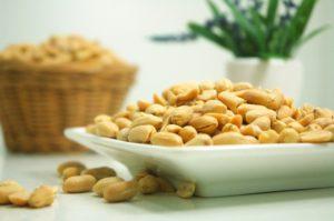 healthy bowel of peanuts