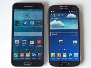 s5 and s4 phones