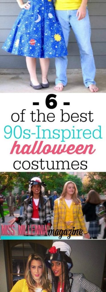 Revisit your childhood with these six classic Halloween costumes from the 90's! Everyone who sees you will be feeling nostalgic.