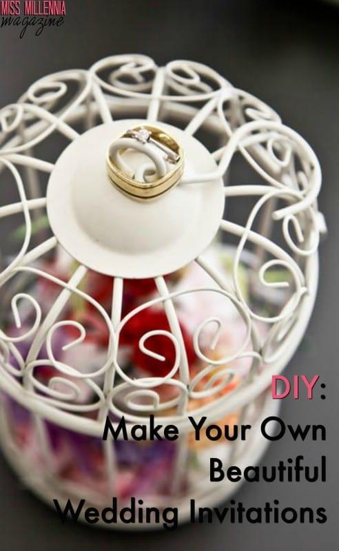 DIY: Make Your Own Beautiful Wedding Invitations