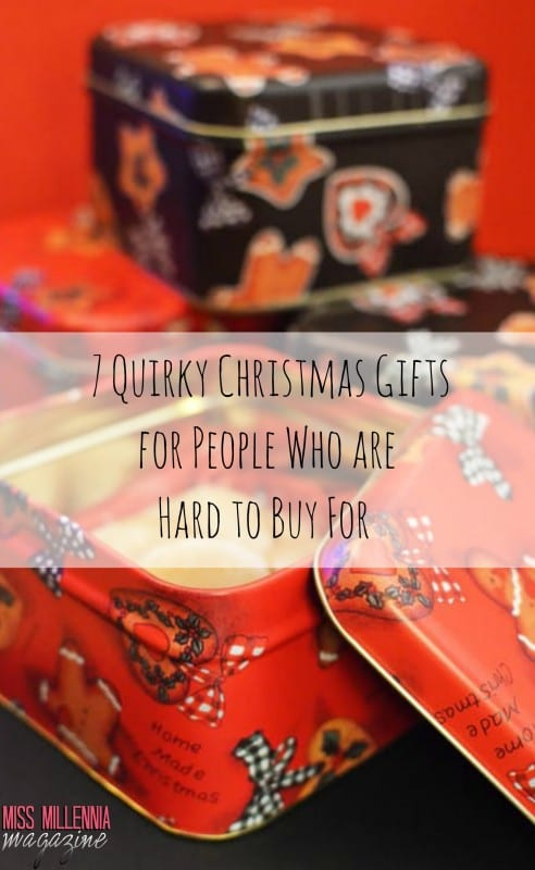 7 Quirky Christmas Gifts for People Who are Hard to Buy For