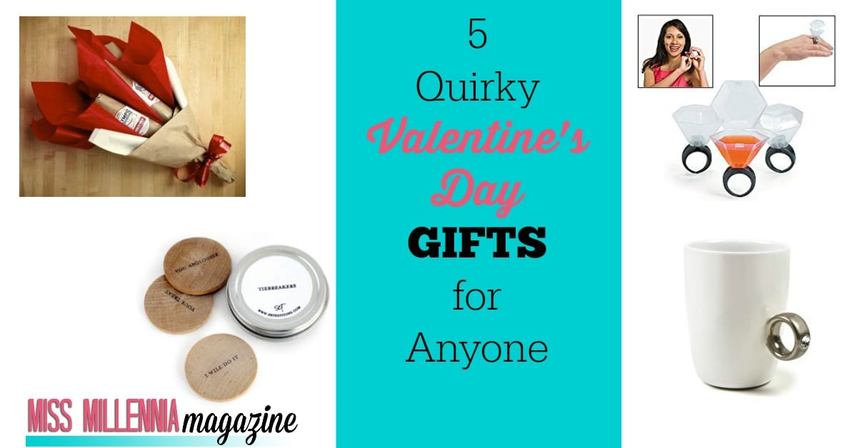 Valentine's Day isn't just for couples! Using this gift guide, find the perfect quirky gift for all the oddballs in your life!