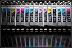 empty ink cartridges