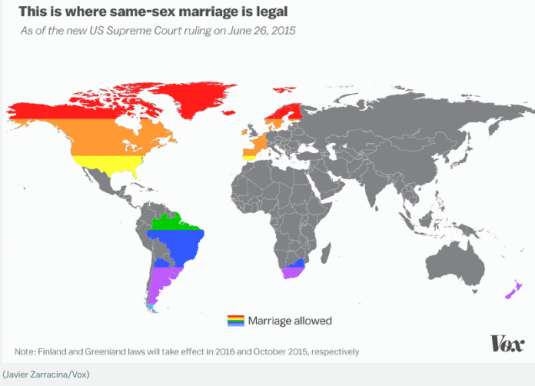 marriage equality across the world