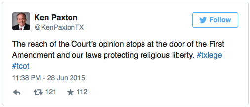 """You'll notice how he refers to the Court's decision as an """"opinion"""""""