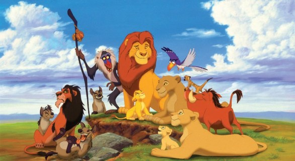 the lion king characters adaptations of play