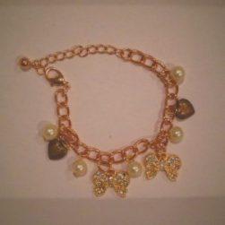 A beautiful charm bracelet