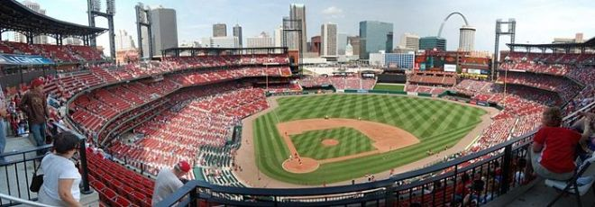 st. louis cardinals baseball busch stadium