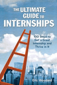 the ultimate guide to internships eric woodard book cover amazon