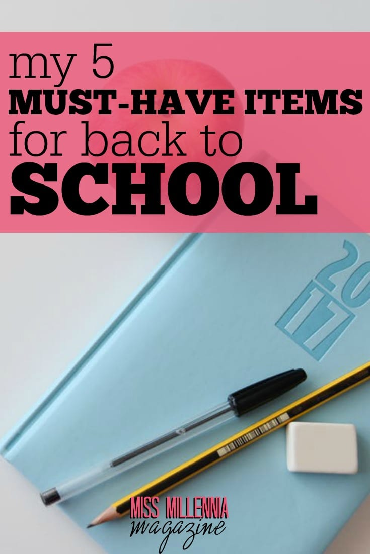 A list of my own essential for back to school that you may not have thought of before. Even if you're not yet mentally prepared, you'll look like you are!