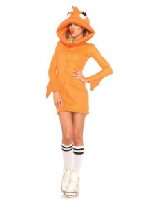 sexy goldfish halloween costume