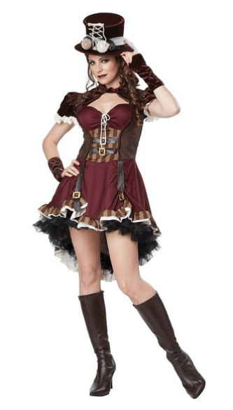 steampunk women's halloween costume