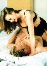 woman on top in bra sex