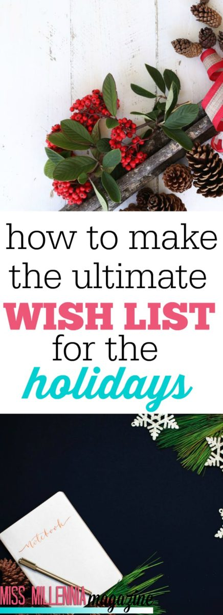 Wish lists have always been one of the main components of the holidays since we've been young. Here's a brand new way to get your wish list together easily!