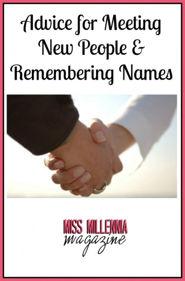 Advice for Meeting New People & Remembering Names