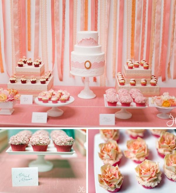 wedding shower pink