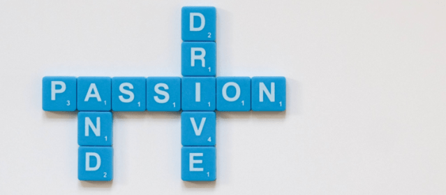 finding motivation with passion and drive