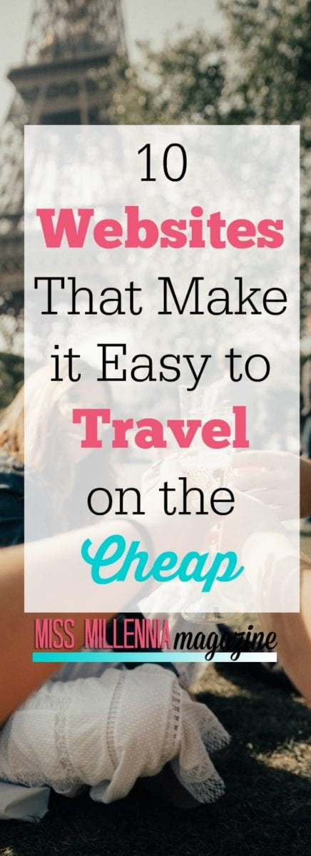 10 Websites That Make it Easy to Travel on the Cheap