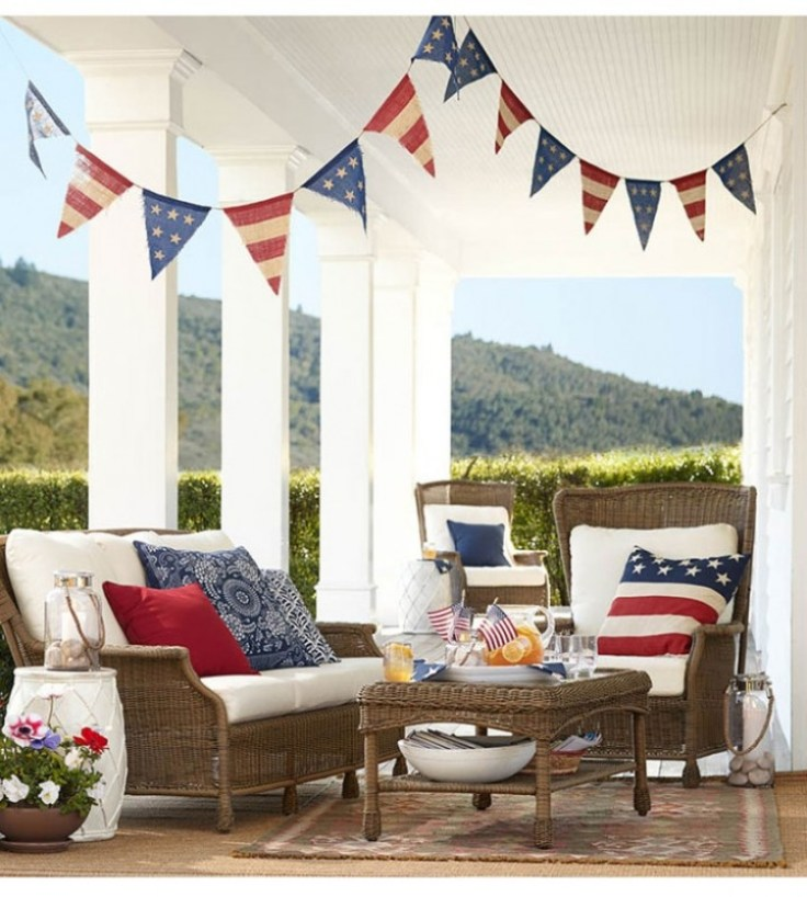 fourth of july party deck
