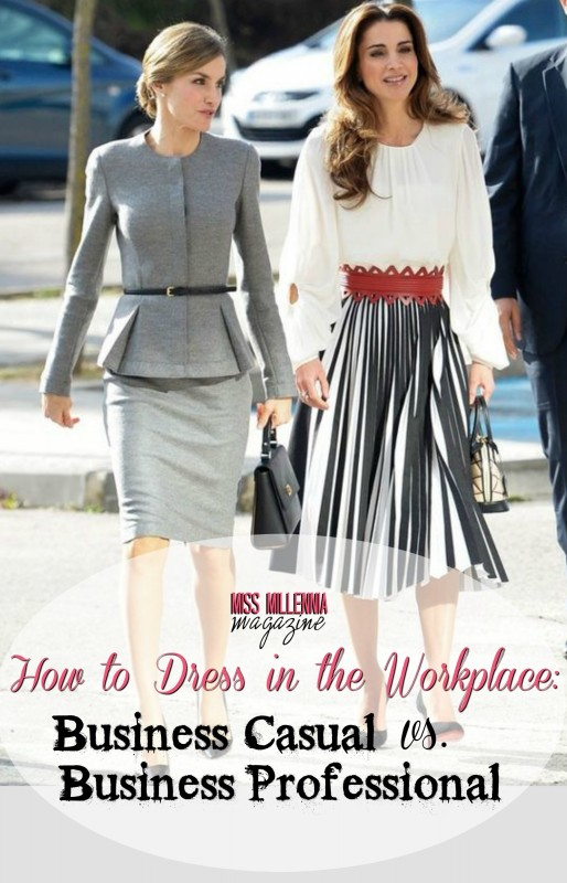How to Dress in the Workplace- Business Casual vs. Business Professional