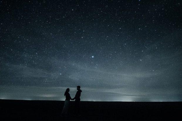 first date ideas stargazing