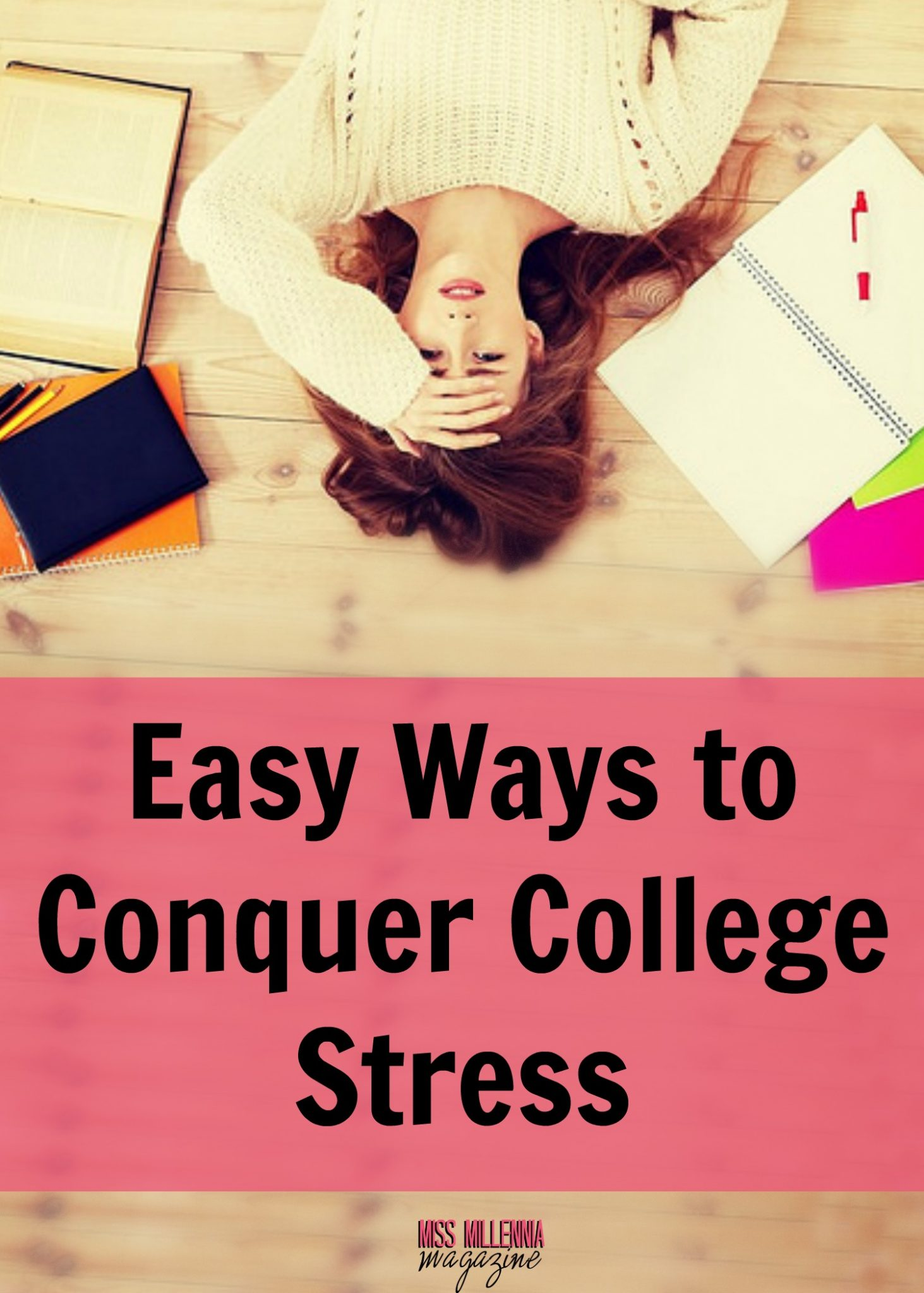 Easy ways to conquer college stress! @Amazon #PrimeStudent #CG