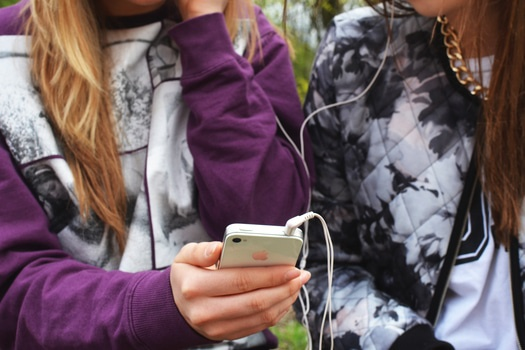 high school friendships listening to music