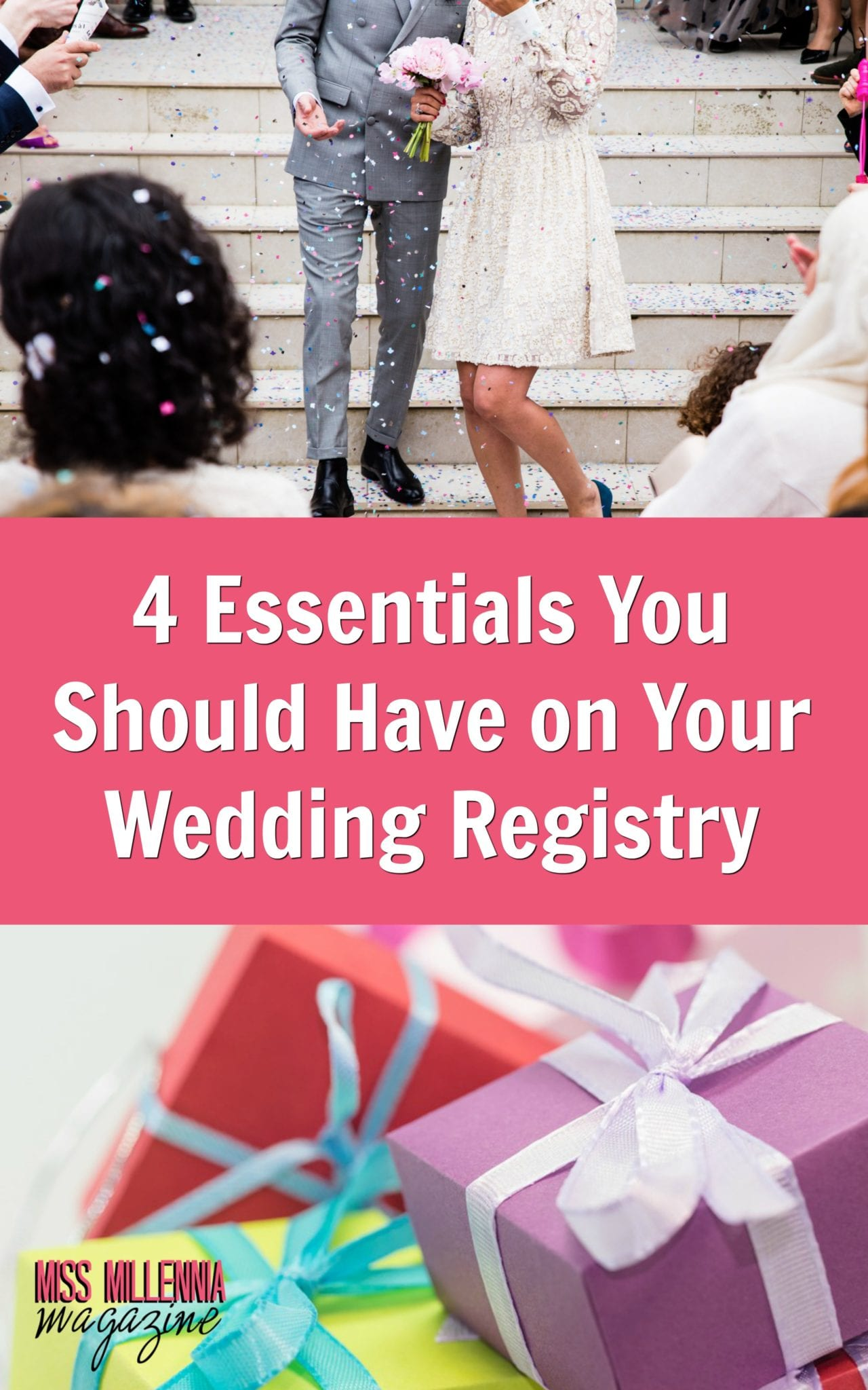 Here I want to share a few registry essentials you shouldn't forget when getting your list together.