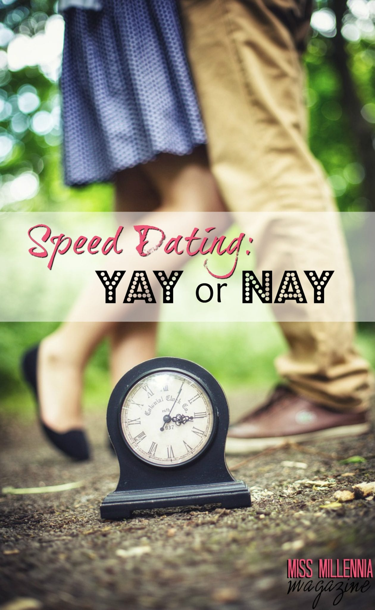 Speed Dating: Yay or Nay?