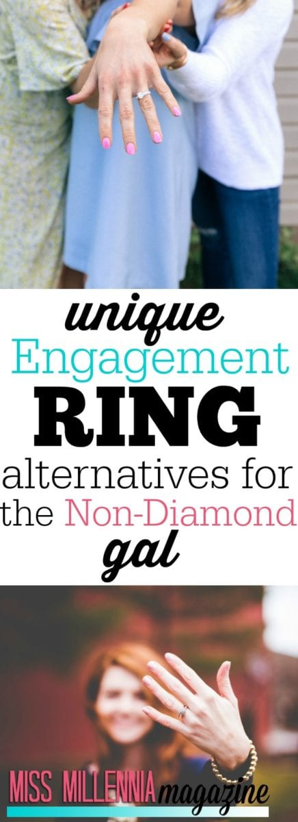Not every bride wants a traditional diamond engagement ring. If you're a girl who wants to stray from the norm, here are some great engagement ring alternatives!