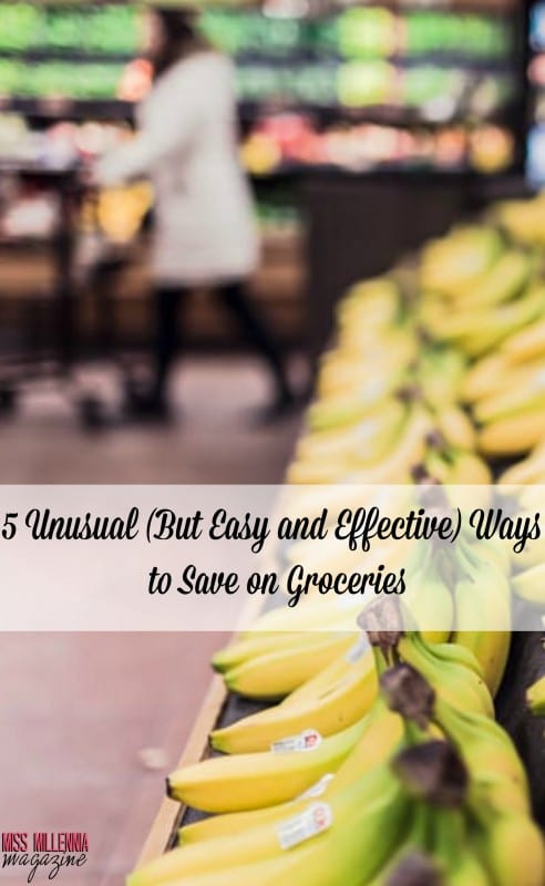 5 Unusual (But Easy and Effective) Ways to Save on Groceries