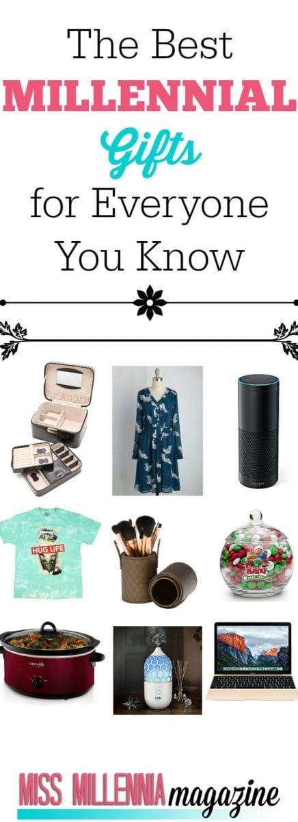 It's that time again! We put together a holiday gift guide of the hottest millennial gifts for everyone on your holiday list this year.