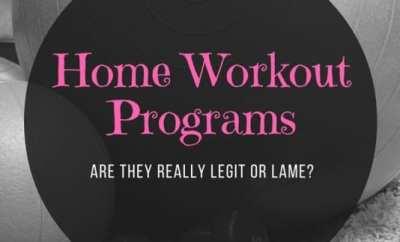 Home Workout Programs