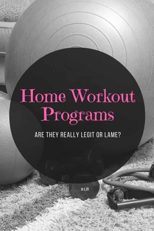 Home Workout Programs: Are They Really Legit or Lame?