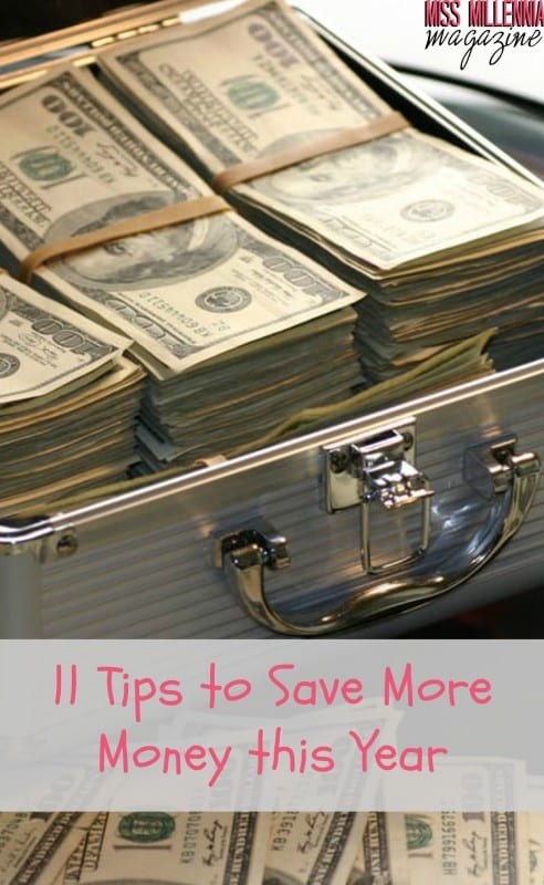 New year, so time to work on a better you. One way to do so is to save money! Here are 11 ways to save more money this year.