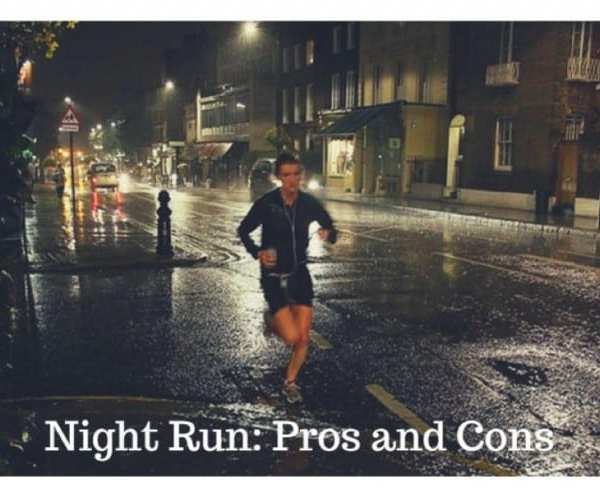 The Pros and Cons of Running at Night
