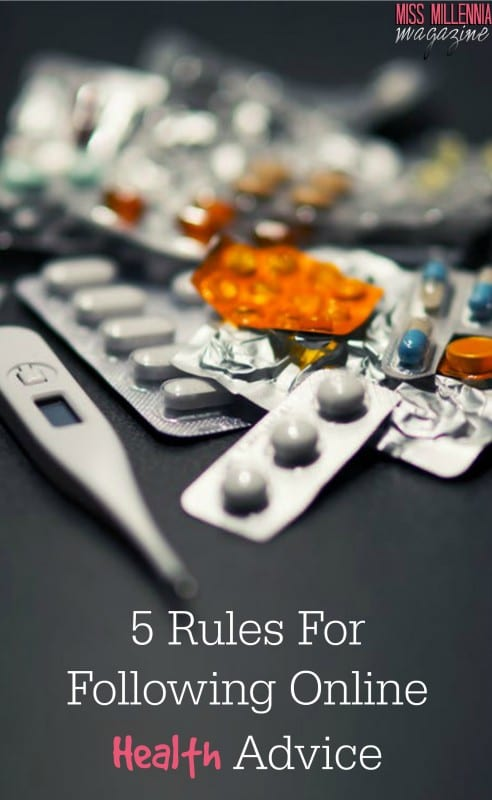 5 Rules For Following Online Health Advice